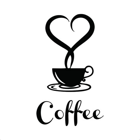 Decorative Decals For Home by Aliexpress Com Buy Coffee Shop Restaurant Wall Decor