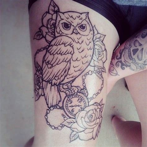 65 latest owl tattoos for girls golfian com