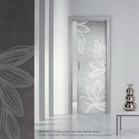 nusco porte scorrevoli porta ghibli lino grigio con vetro satinato bianco mdbportas