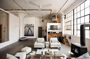 brooklyn living room my houzz international meets industrial in a brooklyn