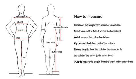 what is the measurements of a full size bed how to take body measurements fashionsizzle