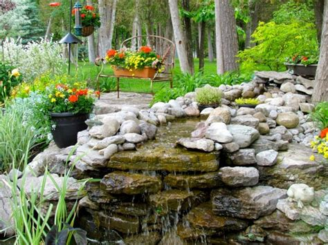 homemade waterfalls backyard 20 stunning backyard waterfall designs