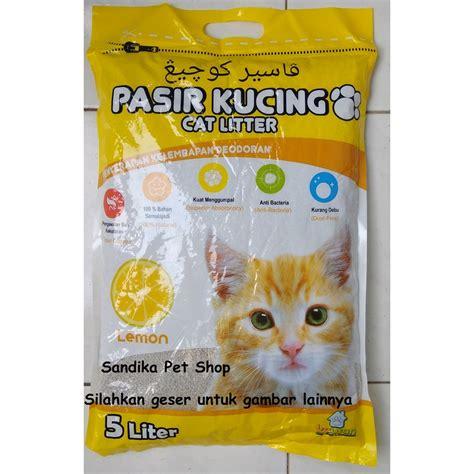 Pasir Kucing Downy 5 5l pasir kucing pasir gumpal pasir wangi kawan 5 l