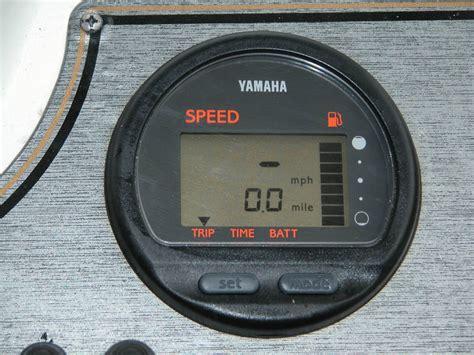 yamaha boat gauges fuel flow meter questions www ifish net