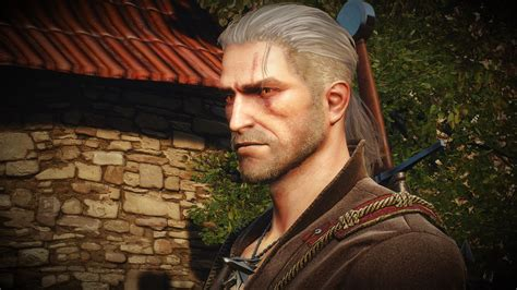 witcher 2 hairstyles abandoned the witcher 2 geralt face converted read desc