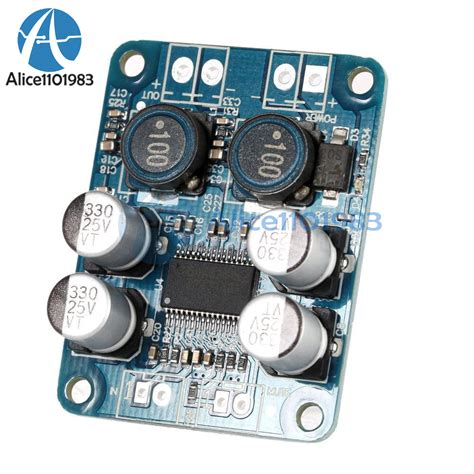 Tpa3118 Pbtl Mono Digital Lifier Board 1x60w 12v 24v Power Modu tpa3118 pbtl mono digital lifier board 1x60w 8 24v power replace tpa3110 ebay