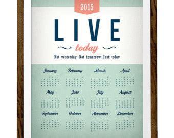 printable banner calendar 2015 2015 calendar print wall calendar mint calendar 2015