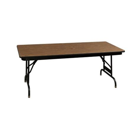 heavy duty metal folding table heavy duty used folding table 24x48 walnut