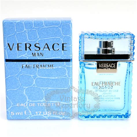 man eau fraiche by versace edt mini perfume cologne for mens 017 oz versace perfume man eau fraiche eau de toilette mini