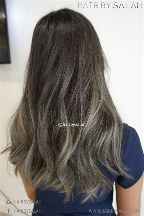 ash brown with ash blonde balayage pictures ash blonde balayage on dark brown hair
