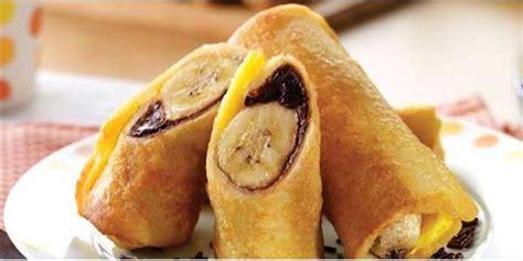 membuat roti gulung berbagai cara membuat roti gulung pisang crispy toko