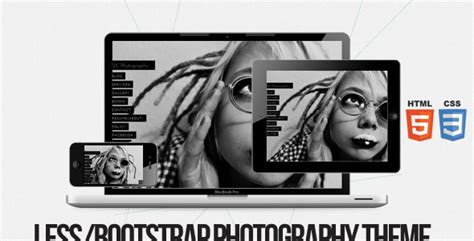45 best responsive html5 photography templates