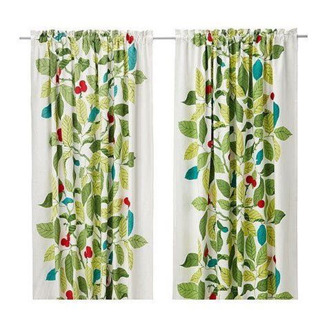 discontinued ikea products list ikea stockholm blad pair of curtains green