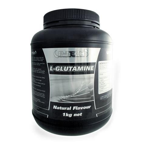 p tech supplements glutamine