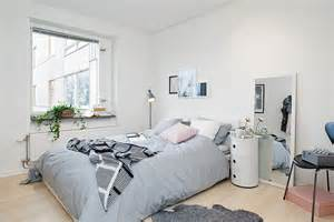 all white bedroom ideas bright and cozy apartment in gothenburg featuring unique splashes of personality freshome com