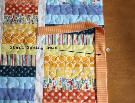 Machine Binding Quilt by Machine Binding Sewing Projects