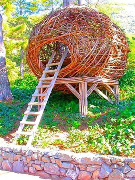 bird nest tree houses randommization