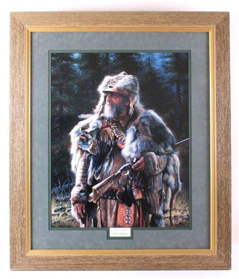 alfredo rodriguez framed fur trapper print