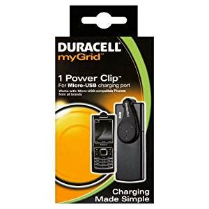 duracell mygrid usb charger duracell mygrid micro usb power clip indoor black mobile