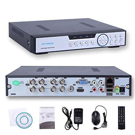 hisvision 8ch 1080n ahd dvr 5 in 1 hybrid 1080p nvr 1080n