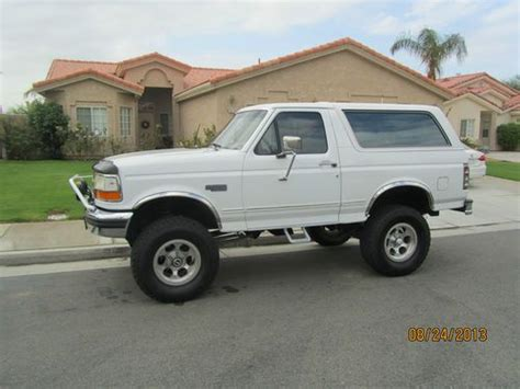 auto air conditioning service 1993 ford bronco parental controls sell used 1993 ford bronco xlt lariat sport utility 2 door 5 8l in la quinta california united