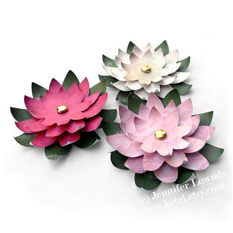 Origami Lotus Flower Pdf - make paper paper flowers and search on