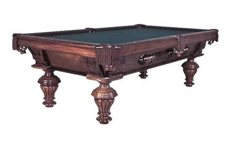 Golden West Pool Table by The Vintage 6458 International Billiards