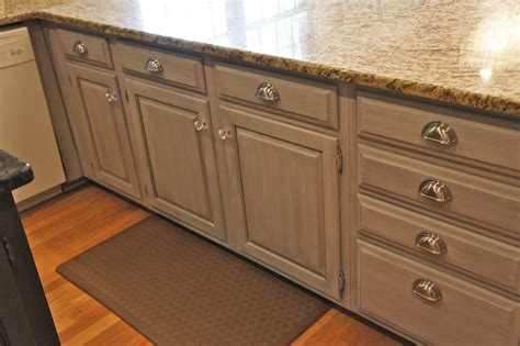 Chalk Paint On Kitchen Cabinets | cabinet painting nashville tn kitchen makeover