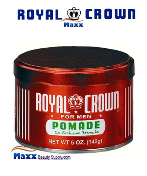 Pomade Royal Crown by Royal Crown For Pomade An Exclusive Formula 5oz 4