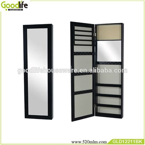 recessed jewelry armoire made in china wall recessed jewelry cabinet with mirror