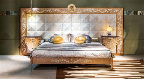 le bett schlafzimmer mit t 228 felung luxus klassischen stil idfdesign
