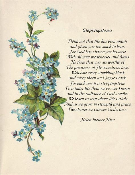 poems of comfort helen steiner rice sympathy quotes quotesgram