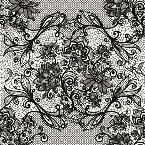 black lace background vector black lace creative background graphics 03 free