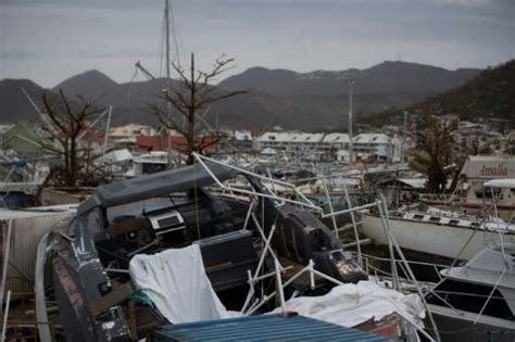 boats after hurricane hurricane jose spares storm ravaged french caribbean islands