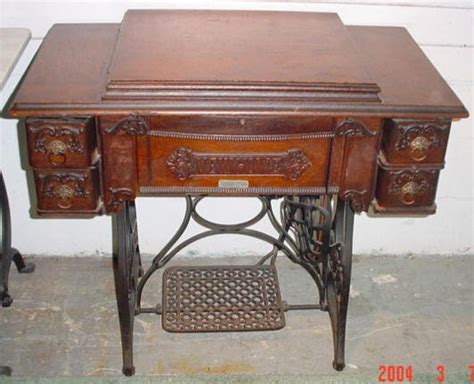 234 new home treadle sewing machine lot 234