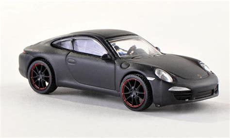 yg red porsche porsche 991 carrera s matt black schuco diecast model car