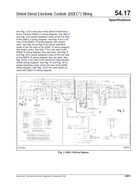 ddec ii wiring diagram pdf wiring diagram schemes