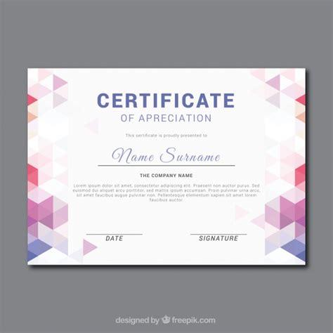 event design certification certificado de apreciaci 243 n fant 225 stico con formas
