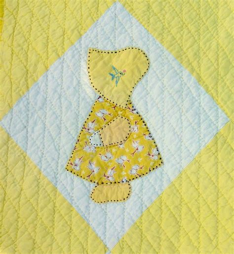 Sun Bonnet Sue Quilt Pattern by Busy Bee No 16 Yiayia S Sunbonnet Sue Quilt A