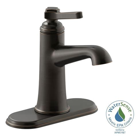 kohler rubbed bronze kitchen faucet kohler georgeson single single handle bathroom faucet