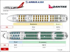 airbus a380 floor plan qantas a380 business class seating plan
