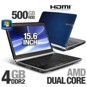 gateway nv5378u refurbished notebook pc amd athlon ii x2