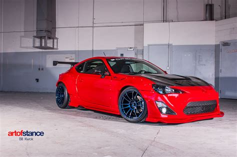frs scion red openroad autogroup rocket bunny scion frs mppsociety