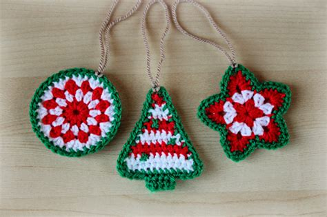 christmas tree decorations to crochet christmas ideas