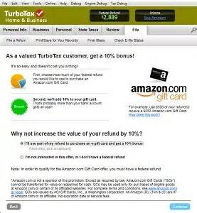 Turbotax Amazon Gift Card Bonus - amazon com turbotax home and business fed efile state 2013 old version software