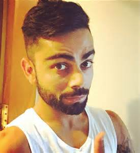 virat kohli new hair cut photo virat kohli sports new hairstyle ahead of 2nd test against sri lanka at colombo cricket