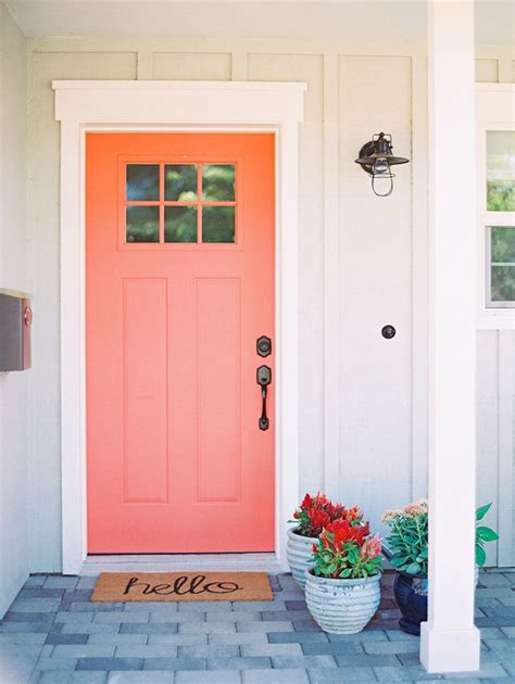 Coral Front Door Front Porch Engagement Shoot In Arcadia Coral Front Doors Grey Houses And Front Doors