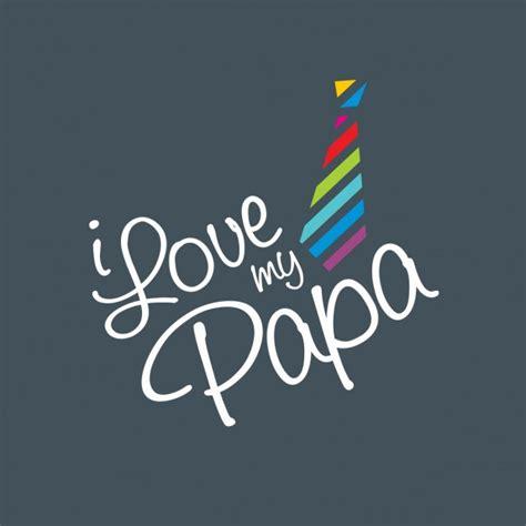 i my i my papa background vector free