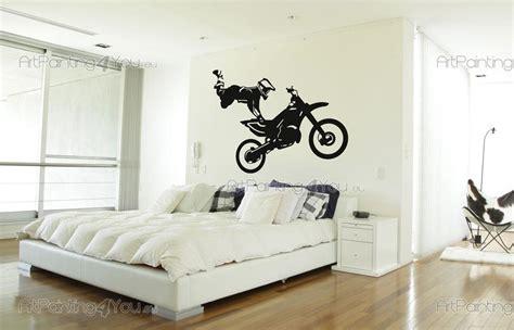 motocross wall stickers wall stickers sport motocross jump 1525en