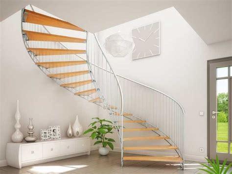 wohnideen türen idee freitragend treppe